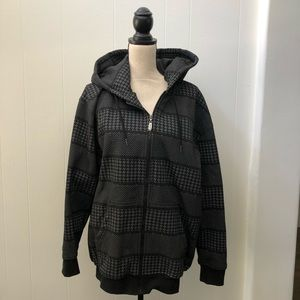 Kenpo Men's Checkered Hoodie - Extra Large